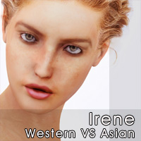 Irene Western VS Asian